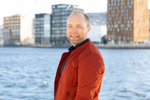 NY LEDERJOBB: Egil André Ø. Jacobsen fra Hønefoss er ny leder for Sopra Sterias nye avdeling i Drammen.