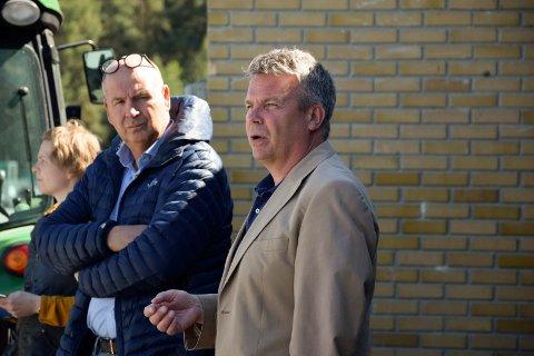 MILLIONER: Varaordfører Dag E. Henaug (H) påpekte at handelsparken omsetter for over 900 millioner kroner årlig.