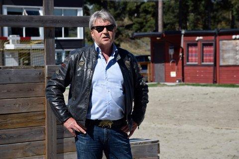 VOKSENDE IDRETT: Tor Frithjov Nerby, styreleder i Ringerike Panthers, har store planer for ishockey i Schjongslunden.