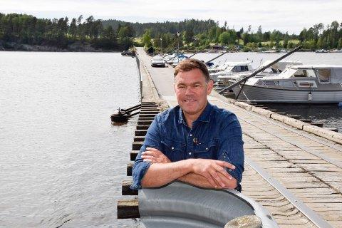 FORSTÅELSE: Frederik Skarstein tror at en samlet plan for Storøya med turområder vil møte større forståelse hos de regionale myndighetene.
