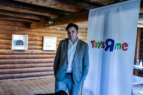 SPENNENDE: Et helt rom er viet Thomas prosjekt ToysRme