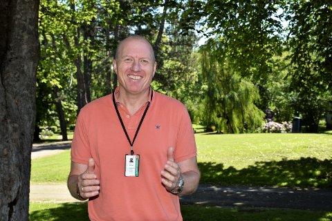 LEDER: Geir Esben Skille er ny avdelingsleder for eiendomsforvaltningen i Ringerike kommune.