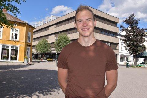 DRØMMESJANSE: Anders Gaarud skal ha internship hos CERN, og betegner det som en drømmesjanse han ikke kunne si nei til.