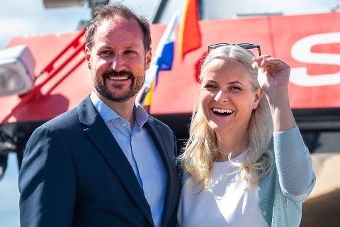 KONGELIG BESØK: Mandag får UngInvest på  Nedmarken i Modum besøk av Kronprins Haakon. Kronprinsesse Mette-Marit skulle egentlig vært med, men må droppe besøket.