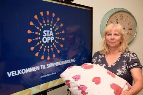 DÅRLIG FORHOLD TIL PUTA: Ingrid Nicolaysen vet at mange får et dårlig forhold til søvn og seng når de har søvnvansker. De er sikre på at de ikke får sove når de legger seg, og dette skjer oftere og oftere.