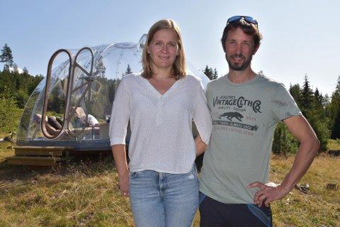 SPENT: Marianne og Per Christian Aurdal er spent på hvordan tilbudet vil bli tatt imot.