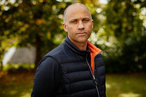 NEDTUR OG OPPTUR: Andreas Evang fryktet konkurs. Nå er han glad for at bedriften overlevde.