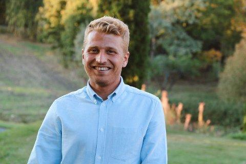 FIKK STIPEND: Saeid Hosseini fra Hønefoss har fått 100.000 kroner i stipend av Sparebankstiftelsen Ringerike.