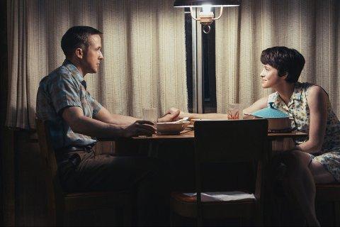 NESTE SJANSE ONSDAG: Skuespillet til Ryan Gosling og Vlaire Foy går gjennom lerretet i det som er to solide Oscar-søknader.