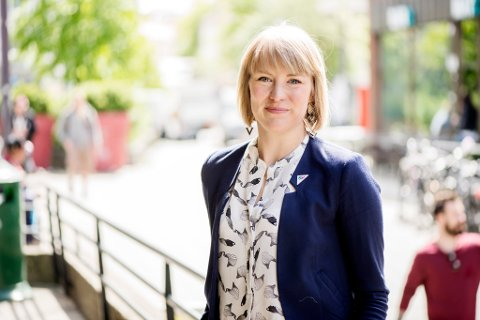 HAR SATT AV PENGER: Kari Elisabeth Kaski opplyser at SV har sartt av 10 millioner i sitt alternative budsjett til kulturminnebevaring, som altså i dette tilfelle betyr Tungtvannskjelleren på Vemork.
