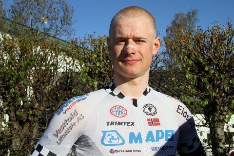 KJØRER BRA: Mikkel Eide har fått en god start på seniorkarrieren. Det fungerer bra i Belgia om dagen for Atrå-gutten.