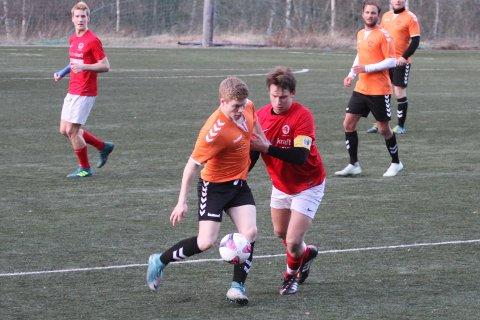 TAPTE: Erik Mathisen og Brede Styrvold klarte ikke å få med noen poeng mot Storm. (Arkivfoto.)