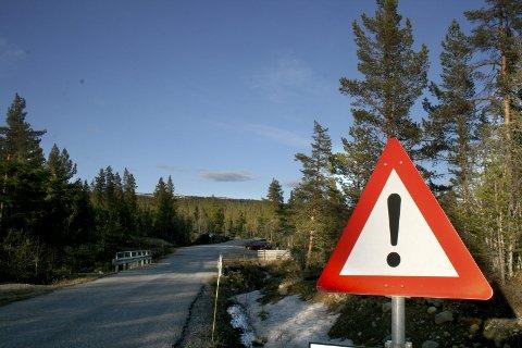 SkirvedalsvegeN:  I løpet av høsten skal det legges asfalt for 7 millioner kroner på Skirvedalsvegen.