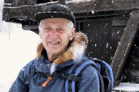 Claus Helberg på Rjukan Fjellstue i 2002 (foto Egil Stensrud )