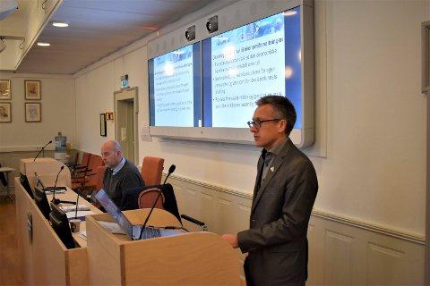 IKKE FORBUD: Rådmann Rune Engehult opplyser at det ikke blir forbud mot fyrverkeri i Tinn i år.