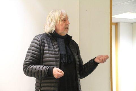 FIKK TELEMARKS KULTURPRIS: Øystein Haugan har idag blitt tildelt Telemark fylkes kulturpris for 2019, som også er den siste fra Telemark fylke.