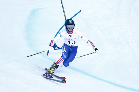 Rjukan  20190320. Norges Amund Moster Haugen i aksjon i klassisk under VM i Telemark på Rjukan. Foto: Terje Pedersen / NTB scanpix