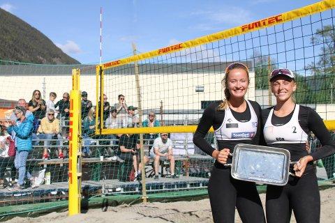 VANT DAMEKLASSEN: I dameklassen vant Helland-Hansen/Ingram som imponerte stor underveis. De slo fjorårsvinnerne på Rjukan Krahn/Fossdal i finalen.