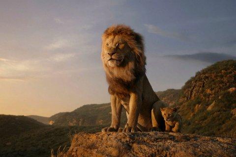 HISTORIEN: Simba forguder faren sin, Kong Mufasa, og aksepterer sin egne kongelige skjebne. Men ikke alle i kongeriket feirer den nye løveungens ankomst.