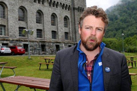 KOMMER: Tinn Høyre har satt inn sluttspurten. Onsdag kommer næringsminister Torbjørn Røe Isaksen