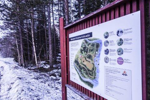 Til salgs: Statskog har planer om å selge området på Sandven når leieavtalen med Tinn kommune går ut 1. juli.