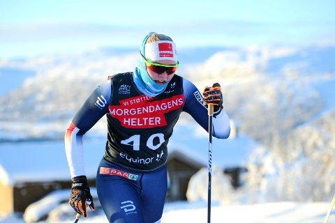 HAR MER INNE: Vilde Flatland har mer inne enn det hun fikk tatt ut i Skandinavisk Cup på Nes i helga.