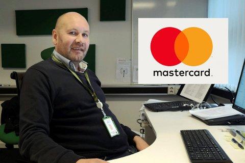 VIKTIG KUNDE: Det er litt av en fjær i hatten for Tor Kristian Gyland, administrerende direktør i Green Mountain å få inn MasterCard som en kunde.