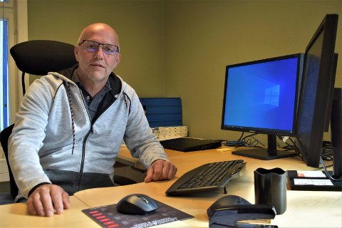REKRUTTERER: Daglig leder i Rjukan Næringsutvikling Rune Hellingsrud er på jakt etter en ny leder for omstillingsprosjektet.