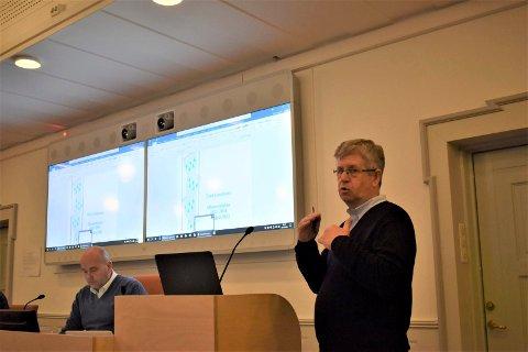 OVERSKUDD: Tinn kommune kan ligge an til et overskudd  som er 20 millioner kroner mer enn budsjettert, først og fremst grunnet merinntekter på god kraftpris, sa kommunalsjef økonomi Osmund Jensen.