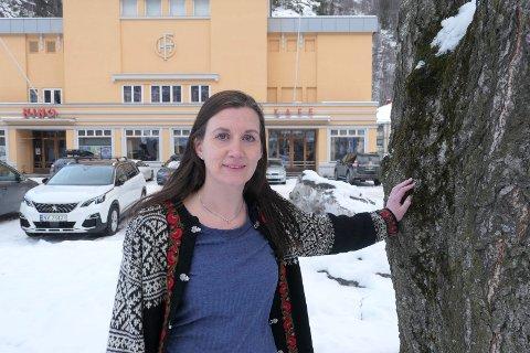 ÅRSMØTE: Jenni Kvaran er leder for Tinn-delegasjonen på helgas årsmøte i Vestfold og Telemark SV. Hun er også medlem av redaksjonskomiteen.
