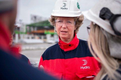 Konsernsjef i Norsk Hydro  - Hilde Merete Aasheim,
