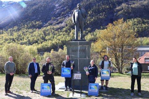 VIKTIG: Stiftelsen Miljøfyrtårn har sertifisert Norsk Industriarbeidermuseum – Vemork, Verdensarvsenteret, Rjukanbanen, Mæl stasjon, Tinn museum og Telemarksgalleriet. Tirsdag fikk de beviset.