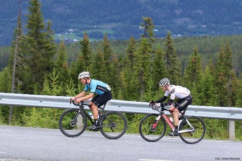 I TOPPEN: Mikkel Eide imponerte da han syklet inn til en flott sjetteplass i gaterittet i norgesmesterskapet.