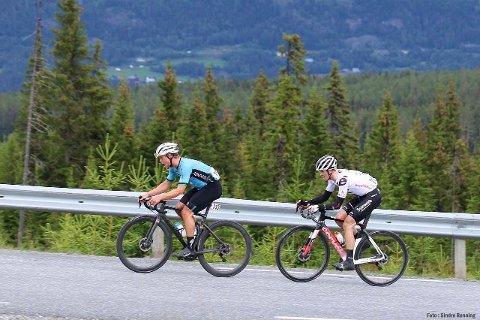 AVSLUTTET: Norgescuprittet i Drangedal gikk ikke helt superbra, men alt i alt er Tinns sykkelstjerne fornøyd med sesongen.