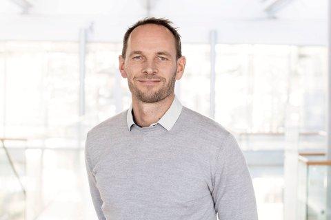 NY SJEF: Snorre Magnus Mosing gleder seg til å bli ny sjef i Tinn Energi.