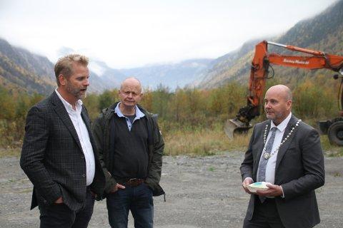 RJUKAN IDEELT: Daglig leder i Hima Seafood AS, Sten Falkum, er ikke i tvil om at Rjukan og Tinn kommune er et lykketreff for prosjektet. - Rjukan har noen kvaliteter som gjør at dette er veldig ideelt.