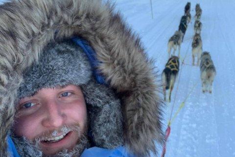 Halldor Viskjer Eide håpar å køyra langdistanseløp med hundespannet.