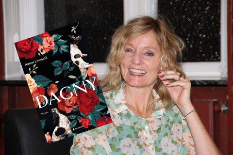 NY BOK OG LYDBOK: Rjukankvinnen Aasne Linnestå har nettopp sluppet romanen «Dagny», som hun har hatt det gøy med å skrive i koronatida.
