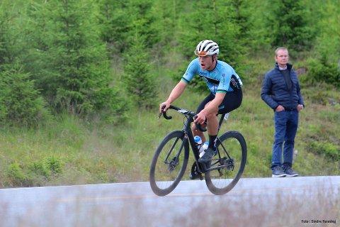 TILBAKE: Mikkel Eide er tilbake på sykkelsetet. Atrå-gutten har gjort en god treningsjobb etter at han bestemte seg for å fortsette sykkelsatsingen.(Arkivfoto)