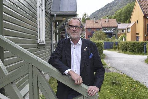 SKUFFET: Bjørn Sverre  Birkeland (Sp)  synes ikke dette er en god og framtidsretta avtale for helse - Tinn (arkiv)