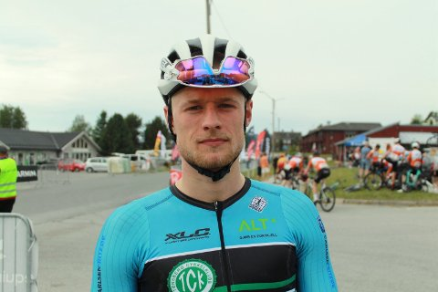 I FORM: Mikkel Eide følte seg pigg i U 23-NM. Men var ikke med da de avgjørende bruddene gikk og Atrå-gutten ble straffet for det.