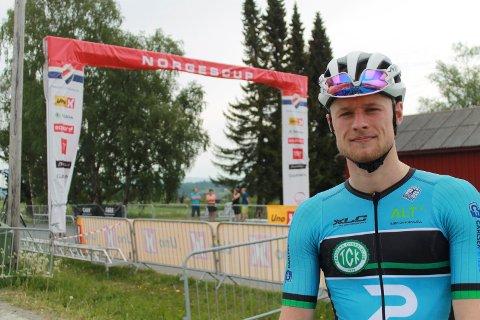 GODE SVAR: Mikkel Eide fikk positive svar da han testet formen i forbindelse med helgas norgescupåpning. Han er glad det er mulig å konkurrere igjen.