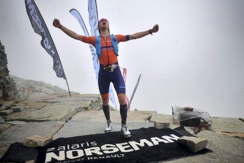 RASKEST: Jon Breivold, som var raskest i Norseman 2021 Foto: Alexander Koerner / Norseman.