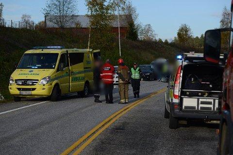 KJØRTE INN I SYKKELFELT: Tiltalte traff to av syklistene, og den ene av dem døde av skadene han ble påført.Foto: Vidar Sandnes