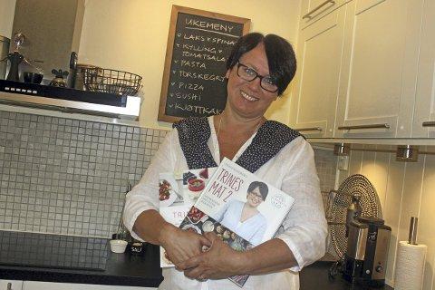 SE TRINE «LIVE»: Trine Sandberg fra Fjellhamar har lansert sin egen matkanal. Foto: Britt Hoffshagen