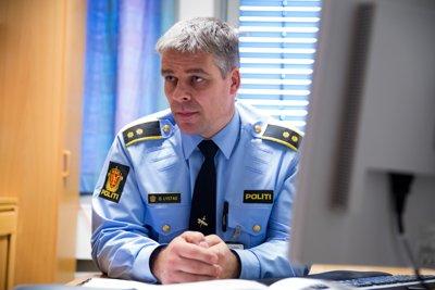 Politioverbetjent Ola Lystad ved Romerike politidistrikt.