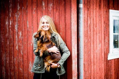 Charlotte Jacobsen (22) fra Råholt er en av fire som går inn i finaleuken av Farmen. Foto: Tom Gustavsen