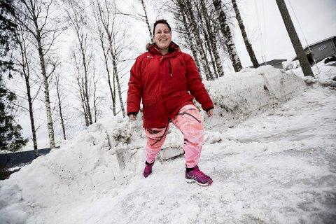 På rett vei: Madelen Haugen (22) fra Nittedal føler hun er blitt en annen person etter at hun deltok i TVNorge-serien «The Biggest Loser Norge». foto: tom gustavsen