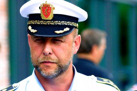 LENSMANN: Morten Huse i Ullensaker, sier at handlingen ble utført med stump vold.