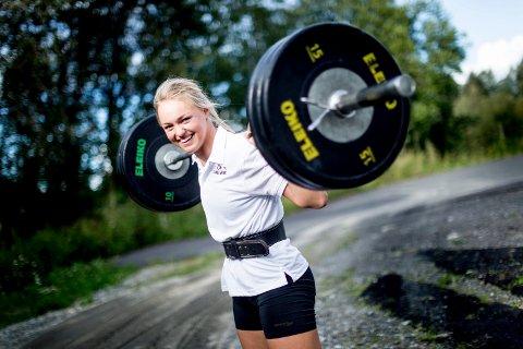 STERK: Thea Louise Stjernesund fra Lillestrøm har vist fysiken er i orden på alpinjentenes Ironman-test. Nå kommer også resultatene i alpinbakken. FOTO: LISBETH ANDRESEN